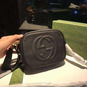 🌸Gucci🌸 GG Soho Small Leather Disco Bag Shoulder Bag Crossbody Bag